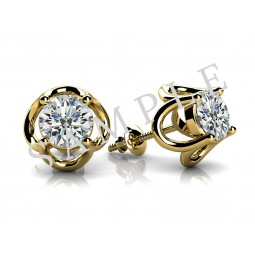 JAYLYNN STUDS 14K YELLOW GOLD JEWELRY