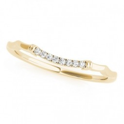 14K YELLOW GOLD ALEXUS WEDDING BAND