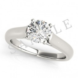 Munich Diamond Ring in Platinum