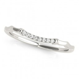 14K WHITE GOLD ALEXUS WEDDING BAND