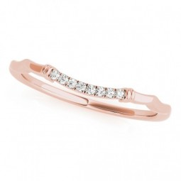 14K ROSE GOLD ALEXUS WEDDING BAND